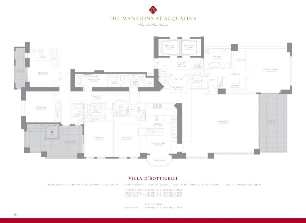 Mansion At Acqualina Sunny Isles Aventura